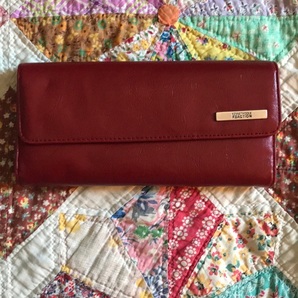 Kenneth Cole Handbags - KENNETH KOLE | red wallet
